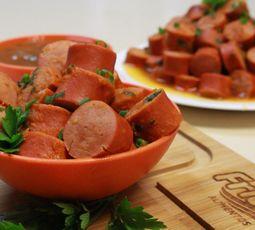 Faça um aperitivo de salsicha chique