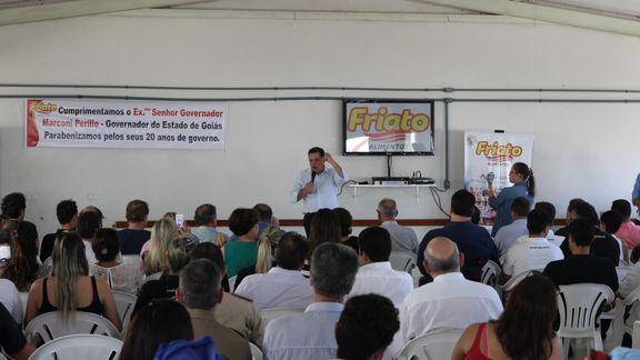 Visita do Exmo. Marconi Perillo, Governador do Estado de Goiás