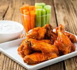 Peppered Chicken Wings (Buffalo Style)