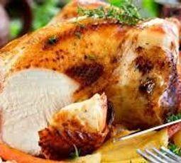 Pollo Asado Frío con Limón y Hierbas