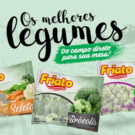 Nova Linha Legumes Friato