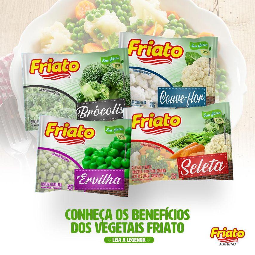 Benefícios dos Vegetais Friato